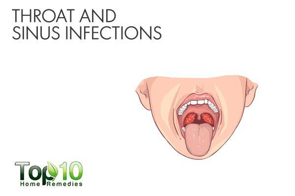 throat and sinus infection contribute to bad breath