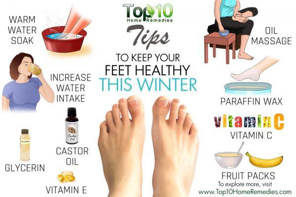 tips to keep your feet healthy this winter