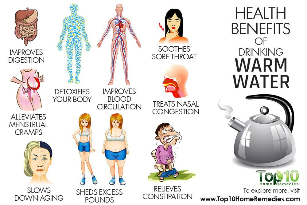 10 Health Benefits Of Drinking Warm Water Top 10 Home