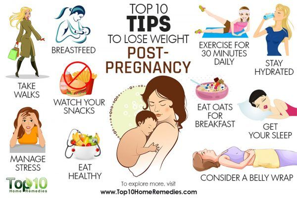 top 10 tips to lose weight post pregnancy