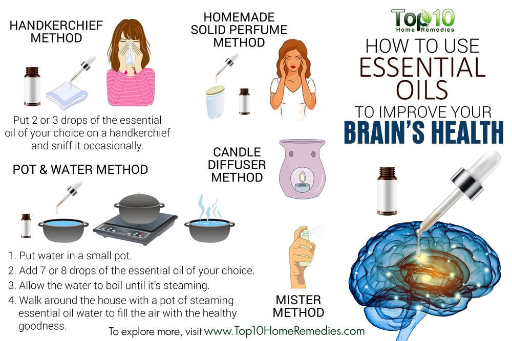 How To Use Essential Oils To Improve Your Brain Health