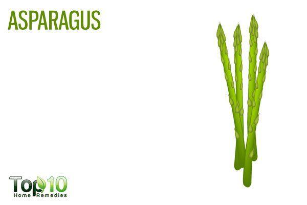 asparagus to clear arteries