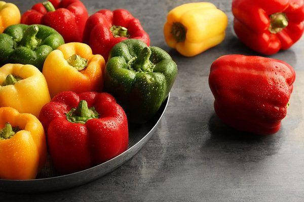 bell peppers alkalize body