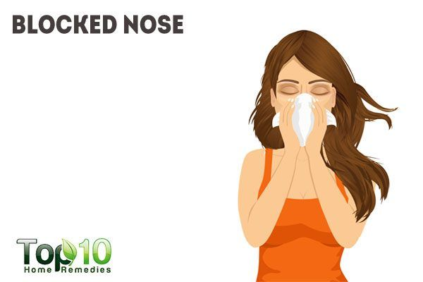 blocked nose due to pregnancy