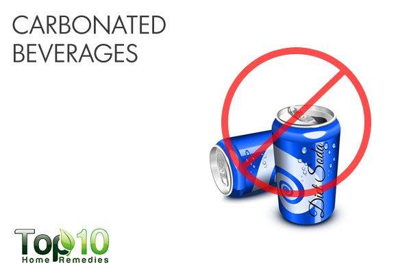 carbonated beverages trigger acid reflux