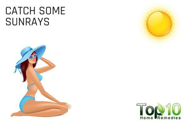 catch some sunrays to improve immunity