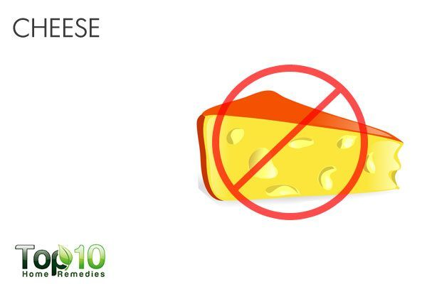 cheese triggers acid reflux