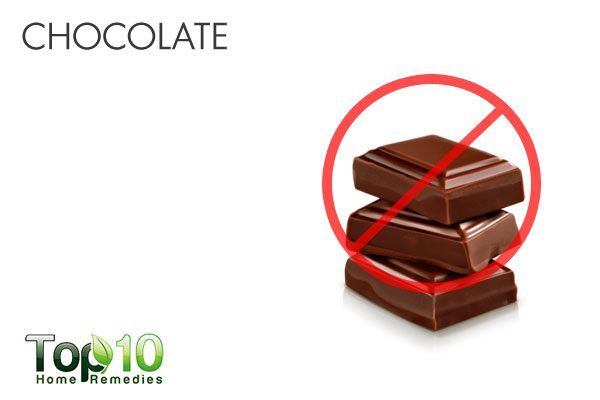 chocolate for acid reflux