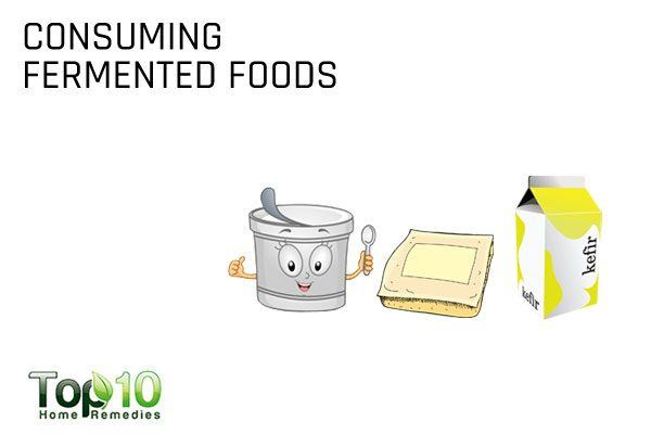 consuming fermented foods