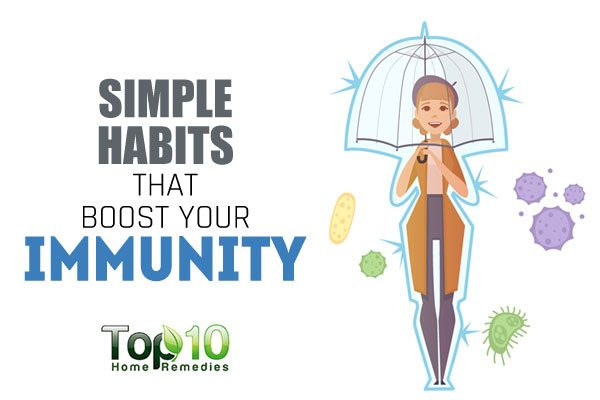 simple habits that boost your immunity
