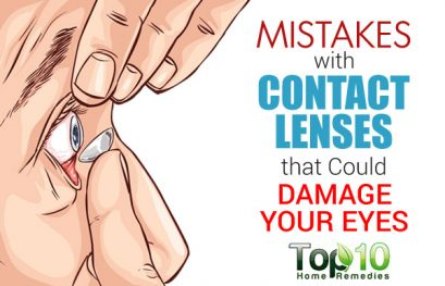 10 Mistakes with Contact Lenses that Could Damage Your Eyes