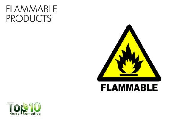 flammable products