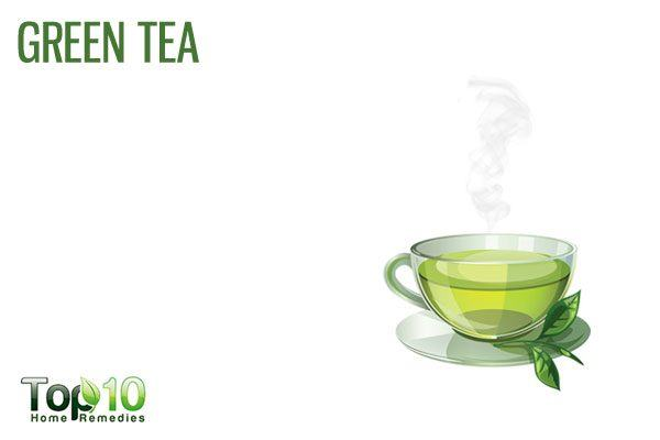 green tea for clogged arteries