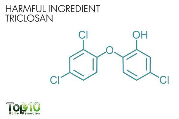 harmful triclosan