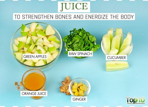 juices to strengthen bones ingredients