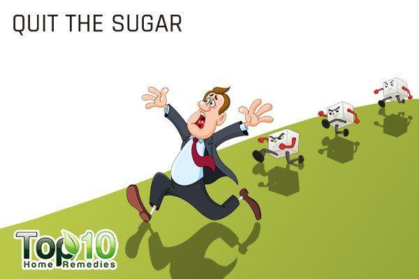quit sugar to help boost immunity