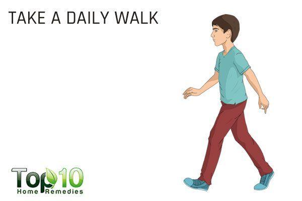 take a daily walk
