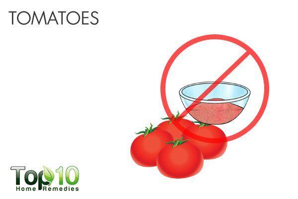 tomatoes trigger acid reflux