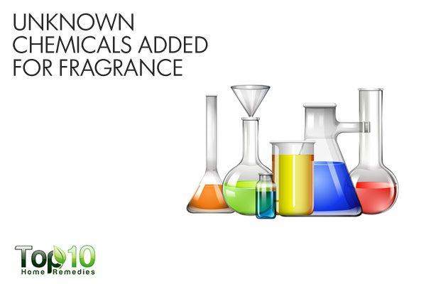 unknown chemicals used for fragrances