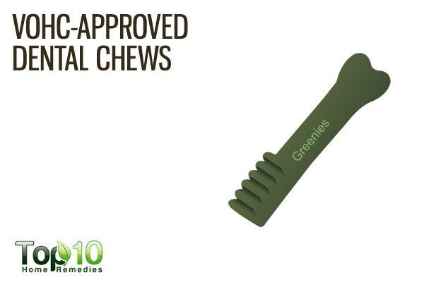 VOHC approved dog chews