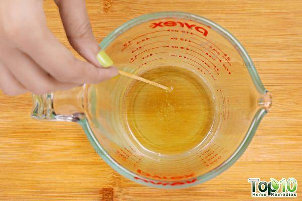 stir the mixture