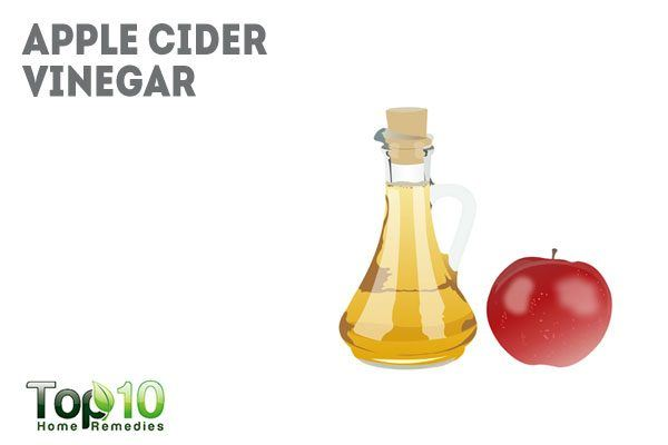 apple cider vinegar to reduce swelling