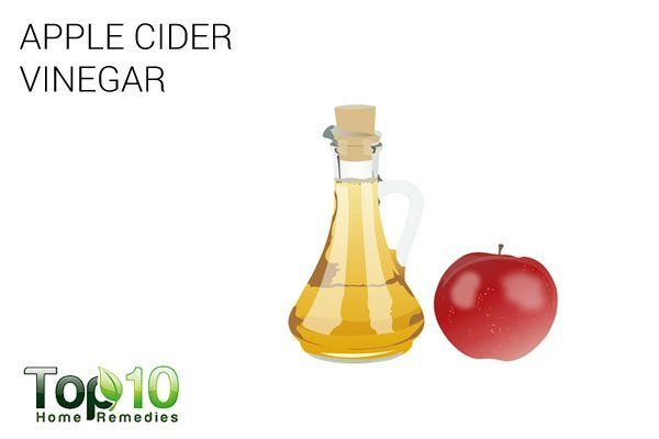 apple cider vinegar in 1st aid kit