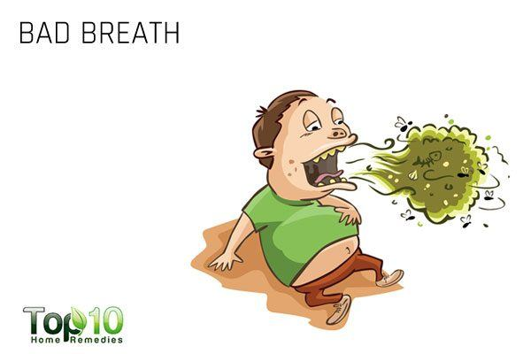 bad breath sign of sinus infection