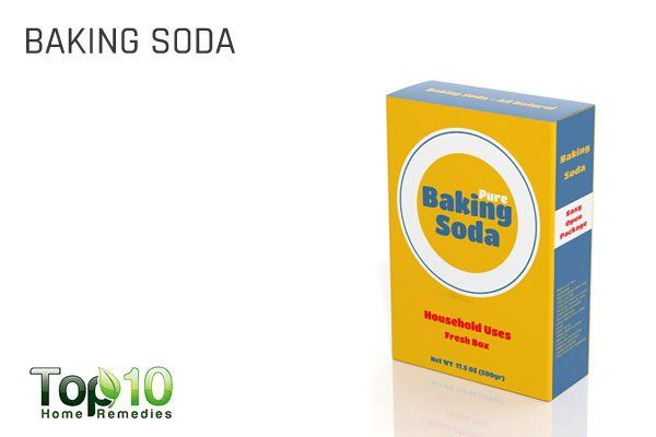 baking soda in 1st aid kit