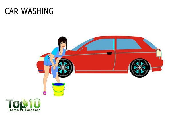 car washing to lose weight