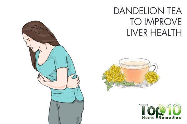 dandelion tea to improve liver health
