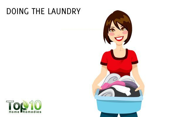 doing laundry to lose weight