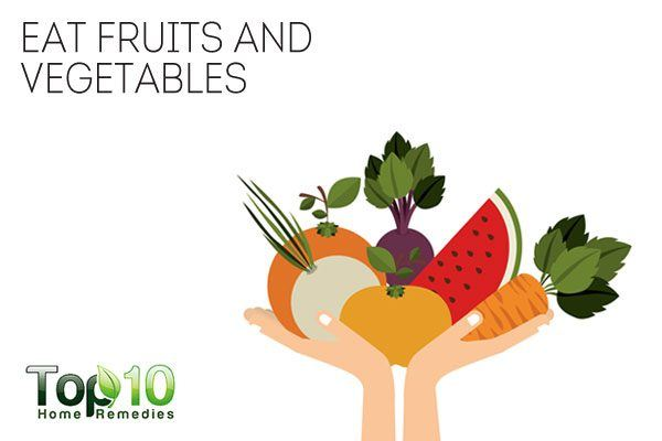 eat fruits and vegetables to help quit smoking