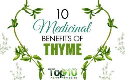 10 Medicinal Benefits of Thyme