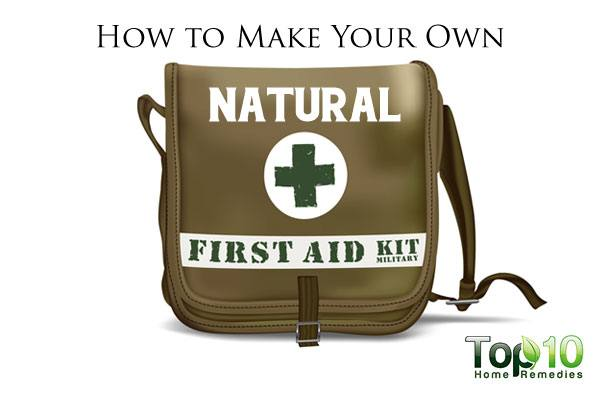 How To Make Your Own Natural First Aid Kit Top 10 Home