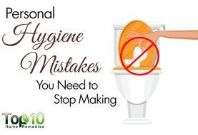 10 Personal Hygiene Mistakes You Need to Stop Making