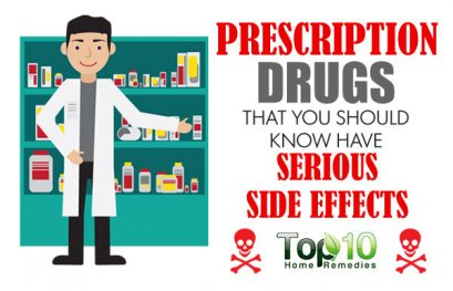 10 Prescription Drugs that You Should Know have Serious Side Effects
