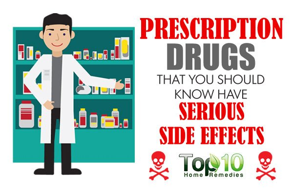 prescription drugs and the effects of However, both prescription and over-the-counter (otc) drugs have side effects side effects, also known as adverse events, are unwanted or unexpected events or reactions to a drug side effects can vary from minor problems like a runny nose to life-threatening events, such as an increased risk of a heart attack.