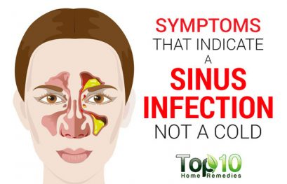 Symptoms that Indicate a Sinus Infection not a Cold