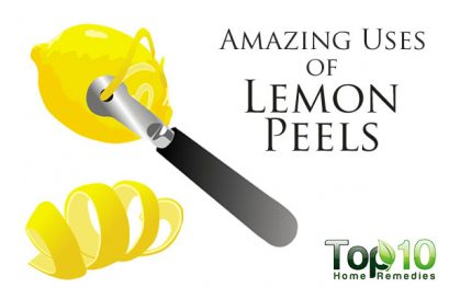 10 Amazing Uses for Lemon Peels