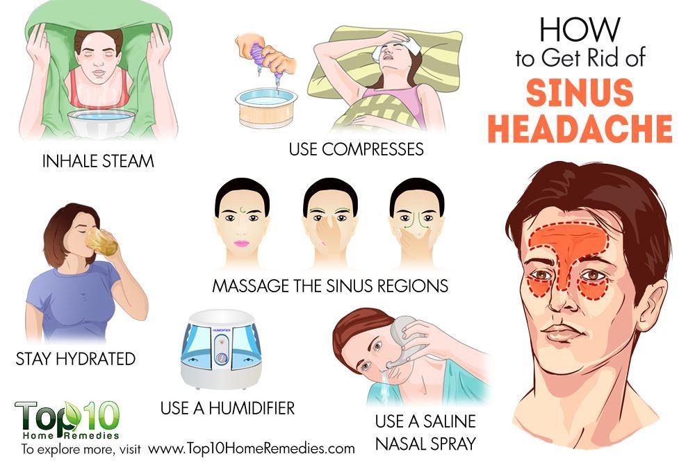 How to get rid of massive headache