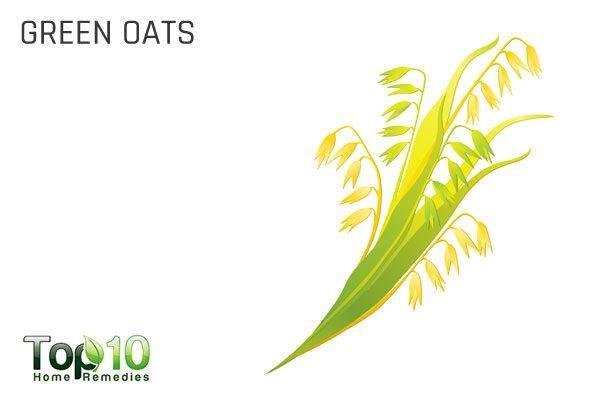 green oats to improve brain power