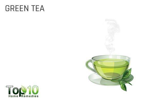 green tea for brain power