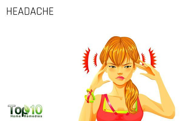 headache symptom of sinus infection