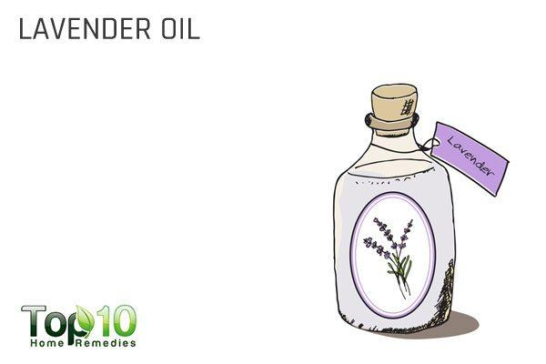 lavender oil in first aid kit