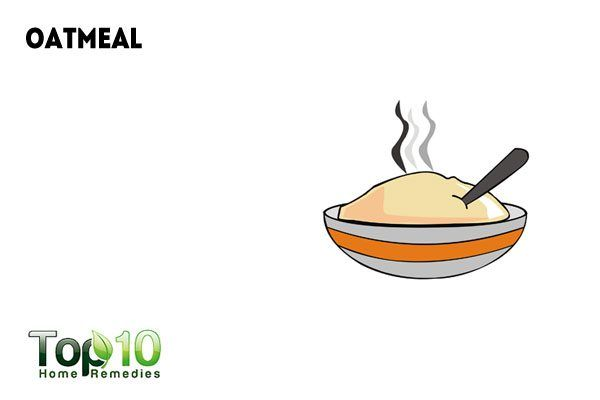 use oatmeal on fire ant sting