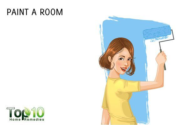 paint a room to help lose weight