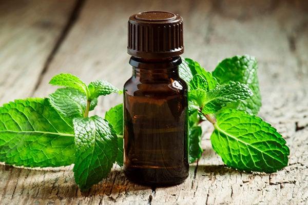 Peppermint oil to reduce sinus headache
