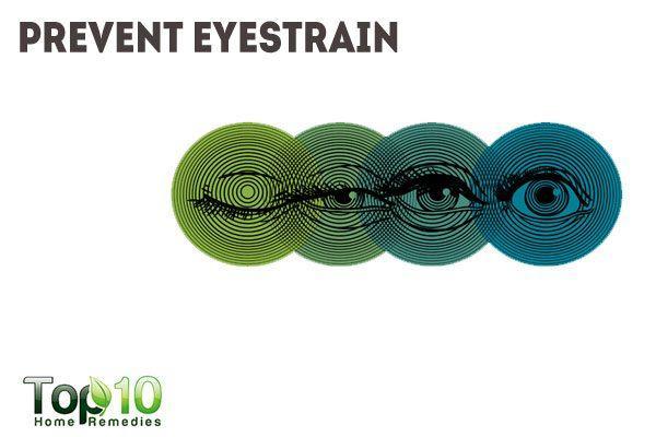 prevent eyestrain to prevent headaches
