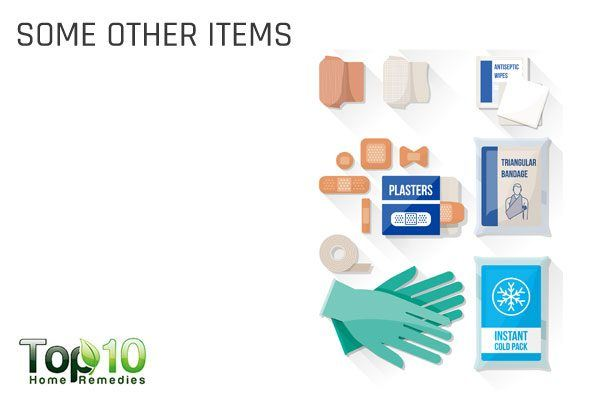 other items to keep in 1st aid kit